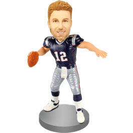 Personalized Bobble Head for  Football Fan