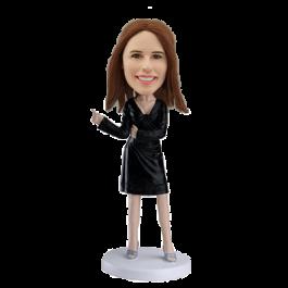 Personalized bobblehead Dancing Girl