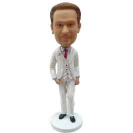 Personalized Bobblehead Fashion Man