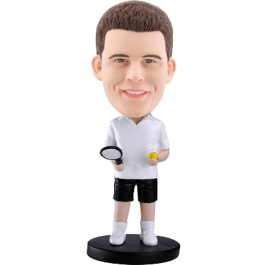 Personalized bobblehead Tennise Buddy