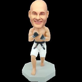 Personalized Boxer Bobble Head