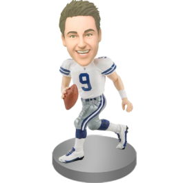 Personalized Football Bobble Head