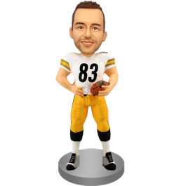 Personalized Football Fan Bobble Head