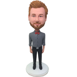 Personalized Gentlemen Bobble Head