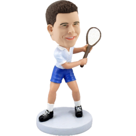 Personalized Tennis Bobble Head