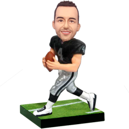 Raiders Football Buddy Custom Bobblehead