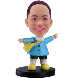 School Boy Custom Bobble Head