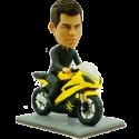 Motorbike Racer Custom Bobblehead