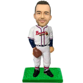 Atlanta Baseball Buddy Custom Bobblehead