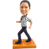 Basketball Referee Custom Bobblehead