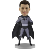 Custom Batman Bobblehead - Black and White