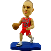 Chicago Basketball Player Custom Bobblehead