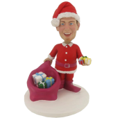 Personalized Santa Clause Bobblehead