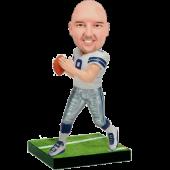 Cowboys Football Fan Custom Bobblehead