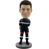 Customized Fireman Bobble Head