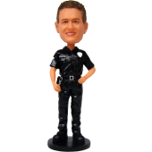 Personalized Police Officer Bobble Head