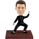 Chinese Kungfu Master Bobble Head