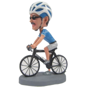Custom Biker Bobble Head