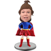 Custom Bobble Head Super Girl