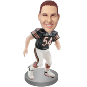 Custom Football Fan Bobble Head