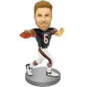 Custom Football Player Bobble