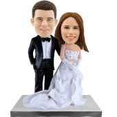 Custom Wedding Cake Topper Bobbleheads