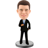 Customized bobblehead Business Man