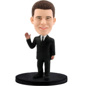 Customized bobblehead Leader