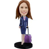 Customized  Stewardess Bobblehead