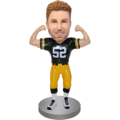 Customized Football Bobble