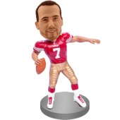 Customized Football Buddy Bobblehead