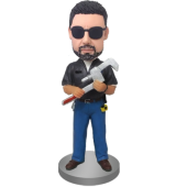 Customized Mechanic Bobblehead