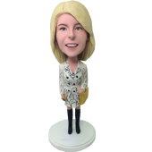 Fashion Lady Custom Bobble Head