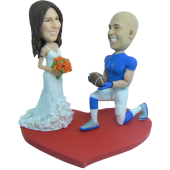 Football Player Wedding