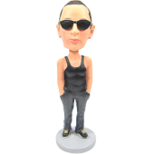 Handsome Boy Custom Bobble Head