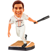 Houston Baseball Buddy Customized Bobblehead
