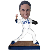 Kansas City Baseball Buddy Custom Bobblehead