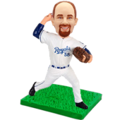 Kansas City Baseball Buddy Personalized Bobblehead