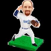 Kansas City Baseball Buddy Personalized Bobblehead