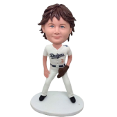 LA Baseball Boy Custom Bobblehead