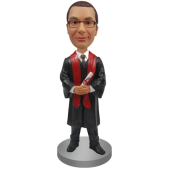 Male Graduate Custom Bobble Head