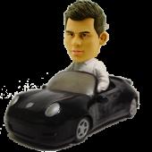 Man in Porsche