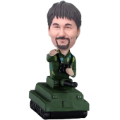 Man in Tank Custom Bobblehead