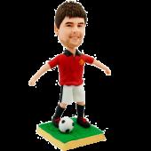 Man United Soccer Fan Custom Bobblehead