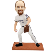 Milwaukee Baseball Custom Bobblehead