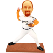 Milwaukee Baseball Pitcher Custom Bobblehead