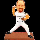 Milwaukee Baseball Pitcher Custom Bobblehead