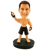 MMA Fighter Custom Bobblehead