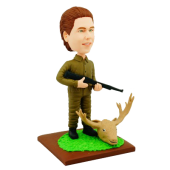 Moose Hunter Custom Bobblehead