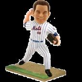 New York Baseball Pitcher Custom Bobblehead